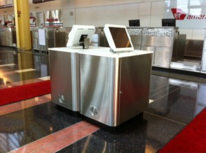 Airline Ticket Counter Design